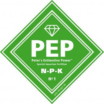 PEP-NPK Dünger für Aquarienpflanzen